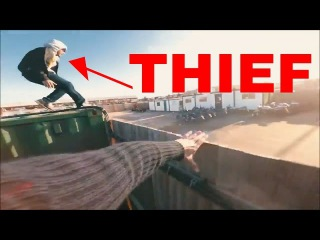 parkour vs security/ police vs THIEF Top 2|The most popular Pov CHASE camera real life staged scene