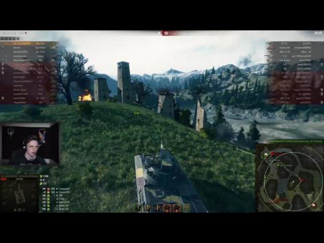 World of Tanks Тащил до последнего НА Rhm Panzerwagen: Один бой из стрима