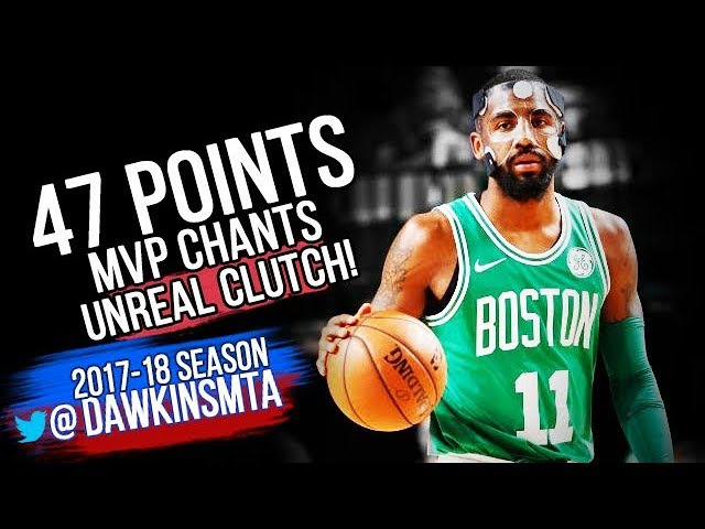 Kyrie Irving INSANE 47 Pts 2017.11.20 at Mavs - 47 Pts, Unreal CLUTCH, MVP Chants in Dallas!