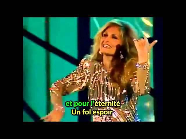 Dalida Le temps d'aimer avec paroles Belgian TV 1986