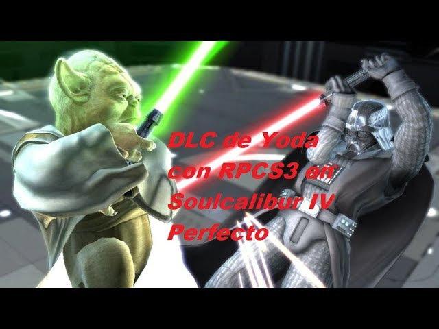 RPCS3 SoulCalibur IV,dando caña con Yoda ( (V-0-0-3LLVMVulkan-casi perfecto)