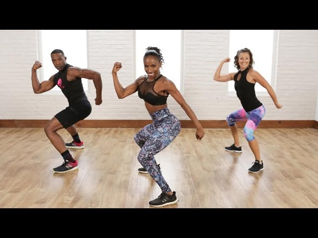 Flat-Belly and Tight-Booty Cardio Dance Workout   Class FitSugar