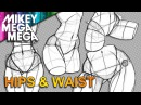 How To Draw HIPS WAIST