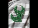 Brincos de croche (coruja) pap muito fácil/ Crochet earrings