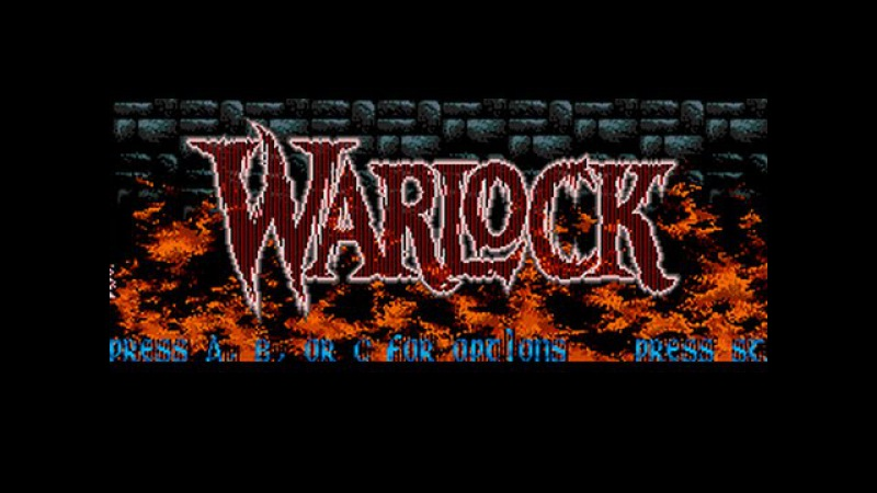 Warlock [Sega Mega Drive / Genesis / Longplay]