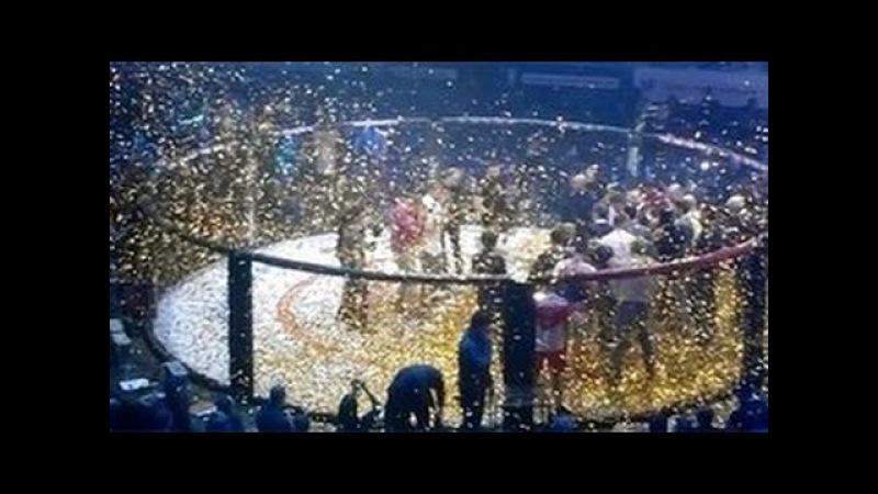 Виталий Минаков - Ди Джей Линдерман НОКАУТ Fight Nights Global 59