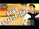 ВАШЕ БЛАГОРОДИЕ под баян - поет Вячеслав Абросимов