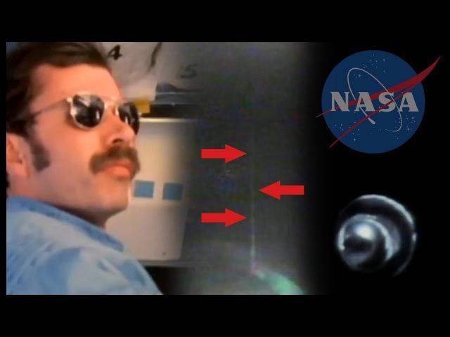 Странный трос у спутника в фильме НАСА 1984   Шатл СТС-51