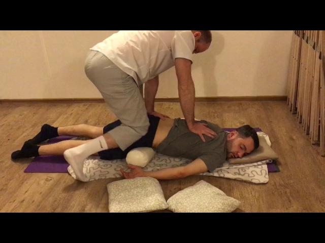 Скорая Помощь при радикулите и болях в спине - Правка ногами