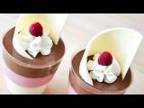 Десерт ДВА шоколада + МАЛИНА