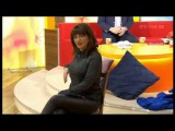 Maura Derrane in waxy leggings on Today with Daithi &amp Maura 29th January 2017