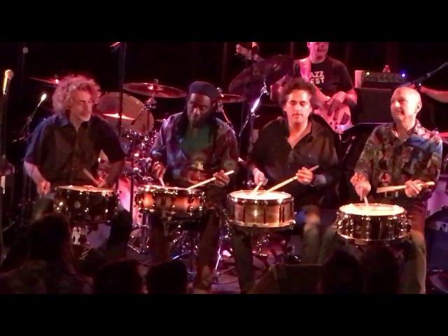 Steve Smith, Todd Sucherman, Simon Phillips Will Calhoun - Snare Jam