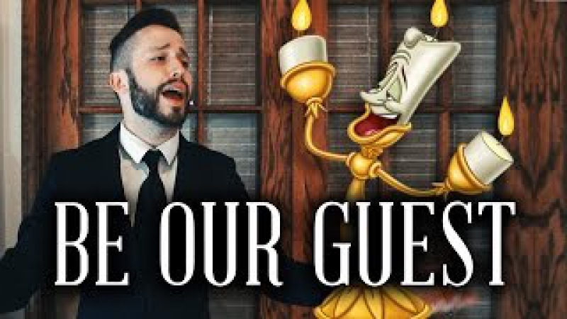 Be Our Guest - Beauty and the Beast (Disney) ~ Cover by Jonathan Young