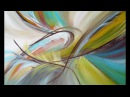 Sanfte Brise Acrylmalerei Einfach Malen Acrylic Painting Easy Painting ABSTRACT