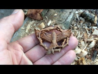 The Making of Raventhorn - Hand Carving a Wooden Pendant