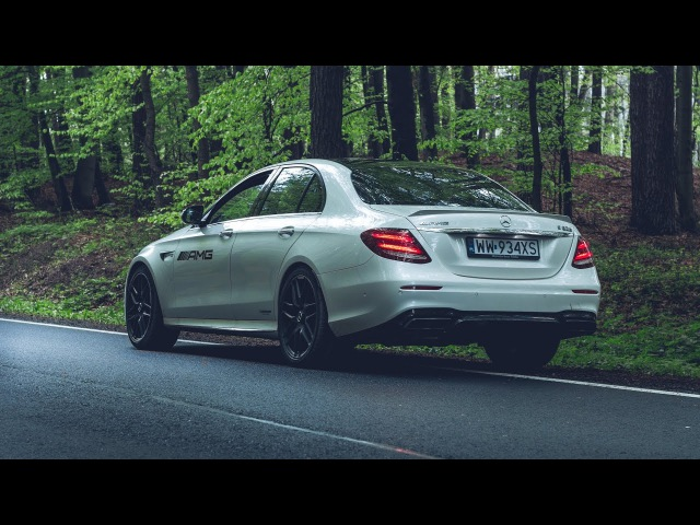 2018 Mercedes-AMG E 63 S 4MATIC - launch control acceleration, lovely sound and more!