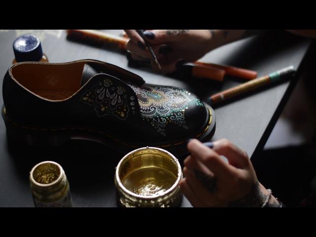 Dr Martens DIY - Olivia Fayne Lamb » Freewka.com - Смотреть онлайн в хорощем качестве