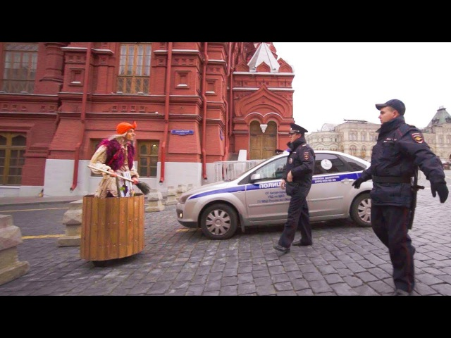 Пранк БАБКА на ГИРОСТУПЕ 4 Что случилось у Кремля