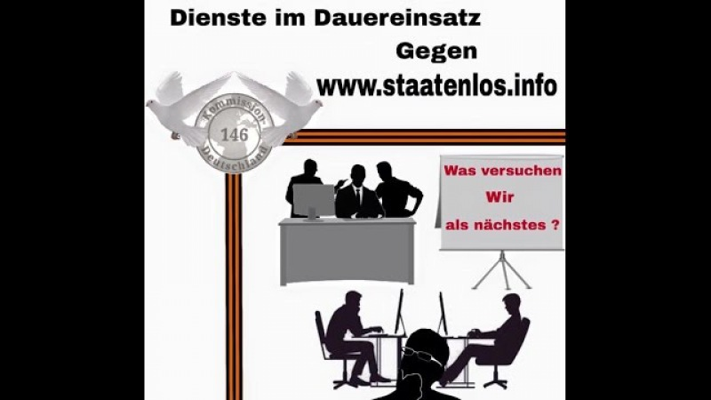 BRD Steuerung dreht durch Straftaten über Straftaten gegen staatenlos.info
