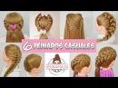 6 Peinados Casuales para Cabello Largo con Trenzas para la Escuela Faciles y Rapidos