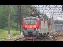 Электровоз ЭП20-035 станция Бекасово-1 3.08.2017
