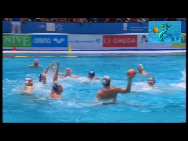 Water polo Удар по воротам 93