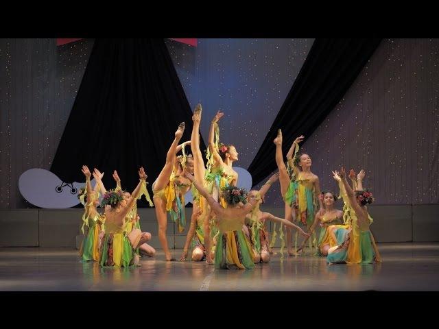 Шоу-балет Культурная революция. Черный котёнок 2017. 1 Место. Эстрадный танец.
