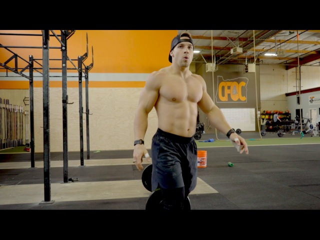 Mitch Wagner does Fran in 1:54 | CrossFit