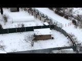 Хуячит снег за забор)