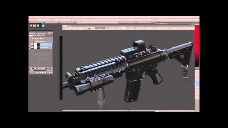 DDO Painter Weapon texturing with Paul Bannon