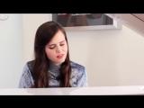 Песня Stay - Zedd ft. Alessia Cara в исполнении Tiffany Alvord  (Piano Cover)
