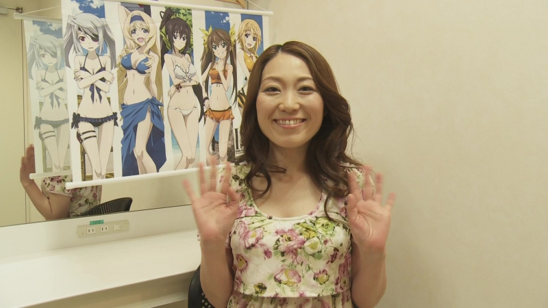 IS 2 One Off Festival 2 Behind the scenes. Kuribayashi Minami's messages.