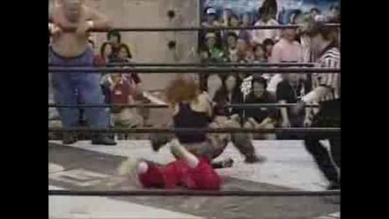 Abdullah Kobayashi, Mayumi Ozaki vs Yuko Miyamoto, Kyoto Kimura (642006)