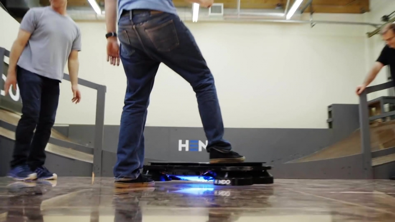 Tony Hawk Rides Worlds First Real Hoverboard - Hendo Hover