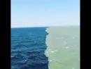 Слияние Тихого океана и залива Аляска