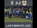 Великая победа над Бристоль Сити на последних минутах матча.