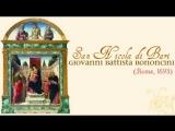Bononcini San Nicola di Bari (1693) Oratorio a quattro Les Muffatti Heyghen