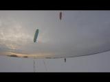 28.02.2017 Инструктор Саша, занятия при ветре 2-3мс