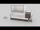Кроватка-трансформер Bertoni Trend Plus New