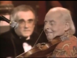 1984 London . Michel Legrand  Stephan Grappelli
