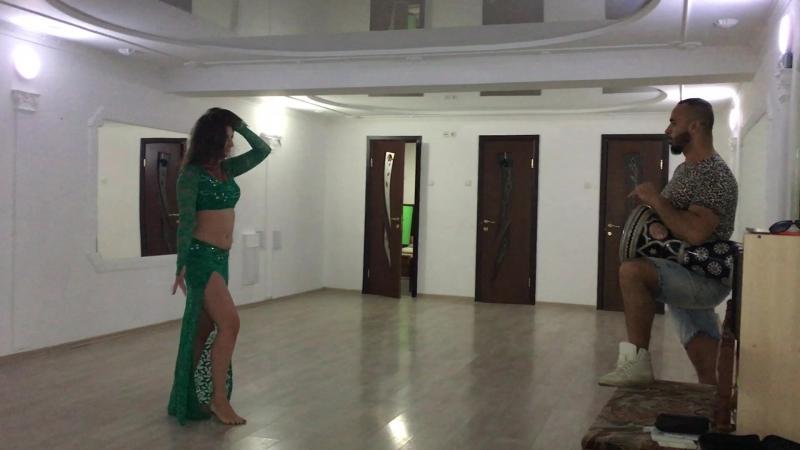 Орхан Исмаил и Дарья Клещевская - Импровизация tabla dance 2017. Orhan Ismail Daria Kleshchevskaya