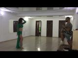 Орхан Исмаил и Дарья Клещевская  - Импровизация tabla dance 2017. Orhan Ismail & Daria Kleshchevskaya