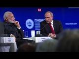 Топ ЛУЧШИХ цитат Путина на ПМЭФ 2017