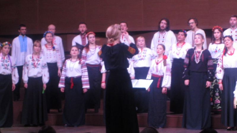 Концерт в Органном зале Харьковской обл.филармонии . Солист Аршад Гейдаров