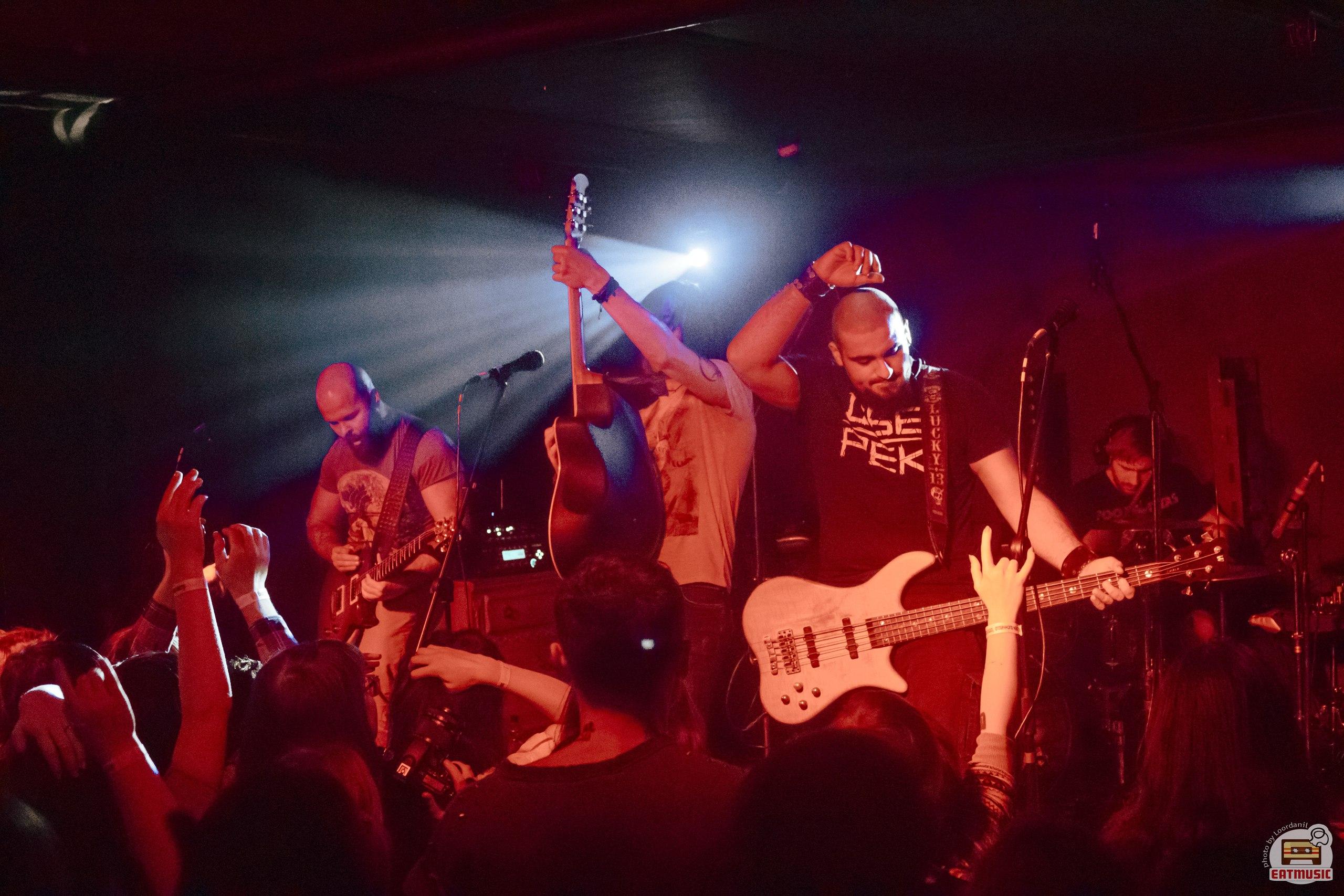 Концерт Обе-Рек в клубе Лес 14-04-2017: репортаж, фото Роман Воронин