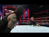 Roman Reigns  The Usos vs. AJ Styles, Luke Gallows  Karl Anderson_ Raw, May 2,