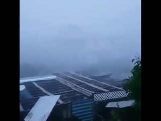 "Ураган 5-ой категории ""Мария"" на острове Мартиника. (19.09.2017)"