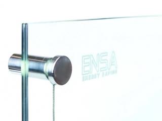 Стеклянный прозрачный инфракрасный обогреватель ENSA G-VISIO