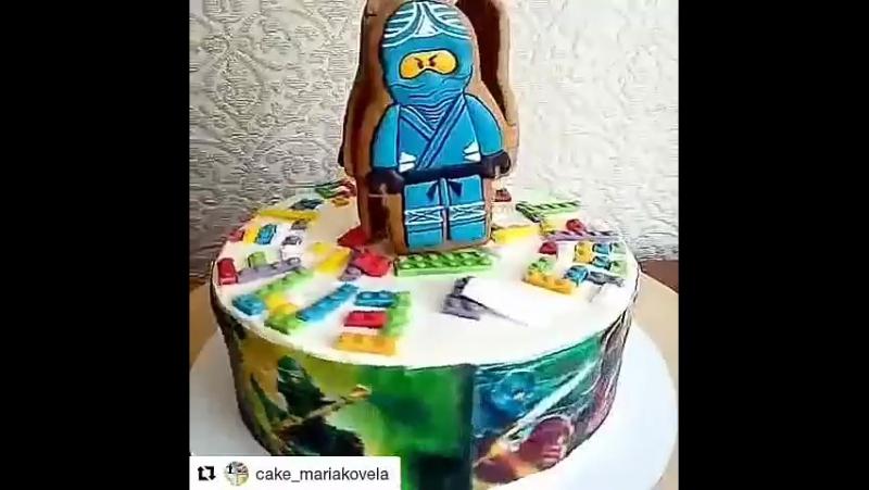 Торт с Лего Ниндзя го