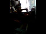 импровизация Славика по пути в Питер